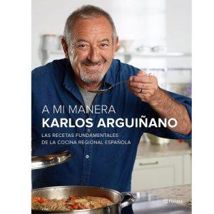 """Nuevo libro karlos Arguiñano """"A mi Manera"""""""