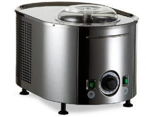 Heladora con compressor Musso, máquina de helados italiana